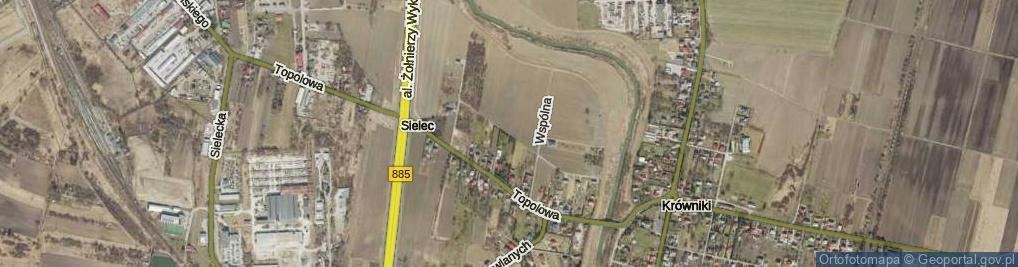 Zdjęcie satelitarne Dobriańskiego Antoniego, ks. ul.