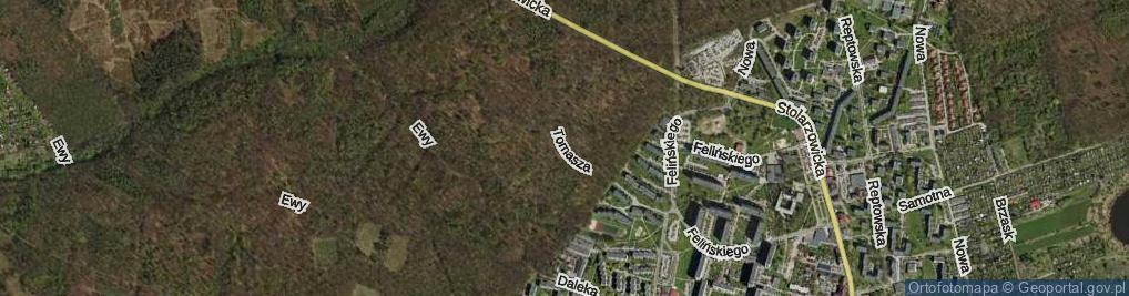 Zdjęcie satelitarne Droga Tomasza ul.