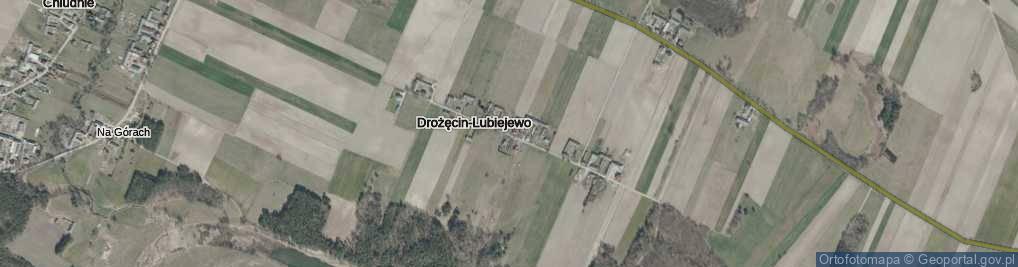 Zdjęcie satelitarne Drożęcin-Lubiejewo ul.