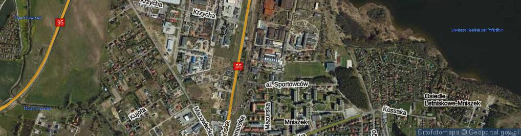 Zdjęcie satelitarne Droga Metalowców ul.