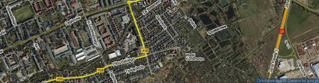 Zdjęcie satelitarne Drzymały Wojciecha ul.