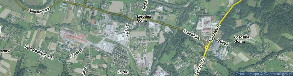 Zdjęcie satelitarne Drożdża Jana ul.