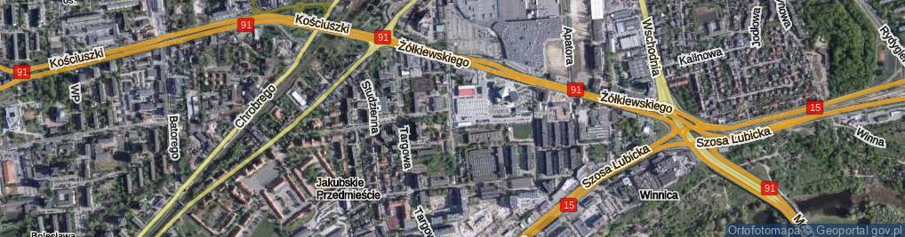 Zdjęcie satelitarne Droga Trzeposka ul.