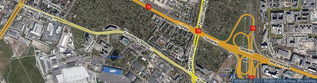 Zdjęcie satelitarne Drzewieckiego Stefana ul.