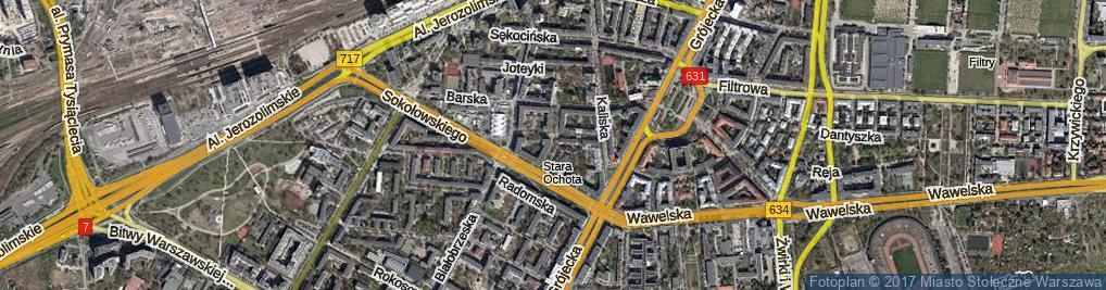 Zdjęcie satelitarne Drobiazg ul.