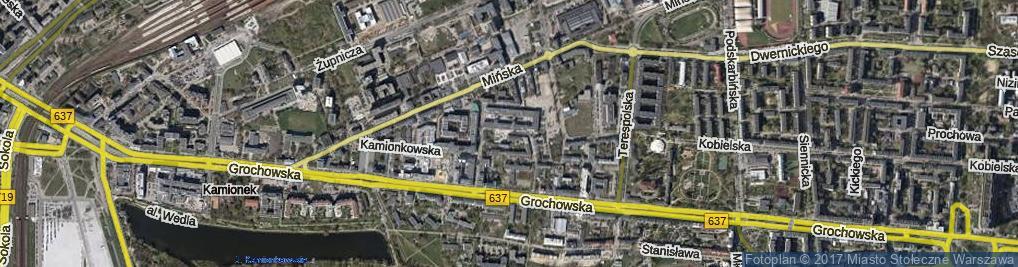 Zdjęcie satelitarne Drewnicka ul.