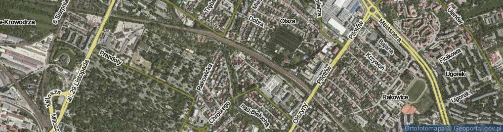 Zdjęcie satelitarne Dukatów ul.