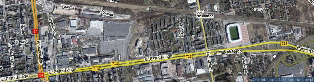 Zdjęcie satelitarne Elana ul.