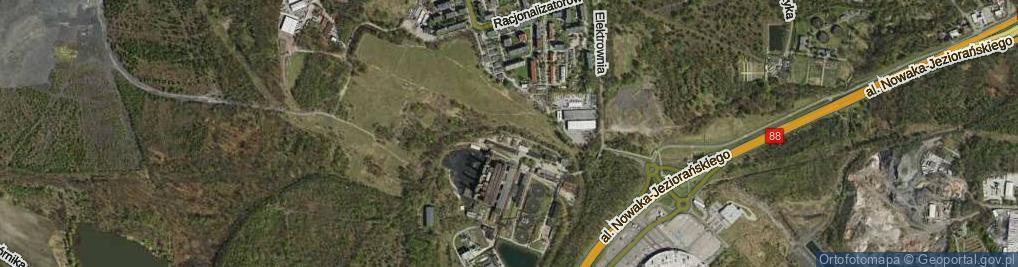 Zdjęcie satelitarne Elektrownia ul.