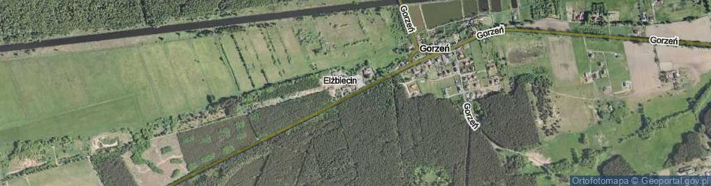 Zdjęcie satelitarne Elżbiecin ul.