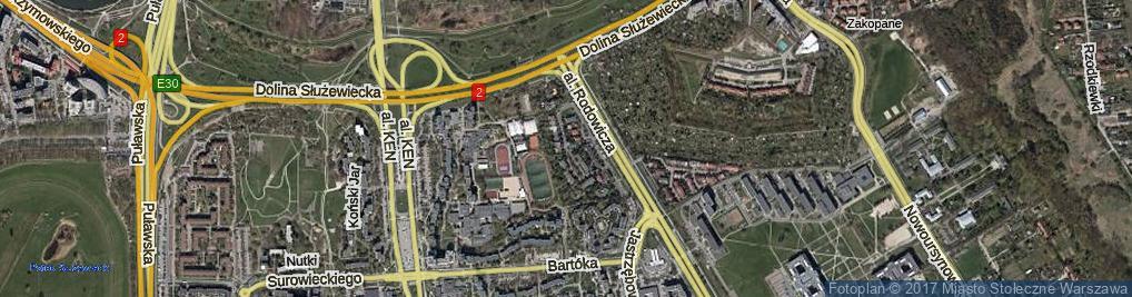 Zdjęcie satelitarne Elegijna ul.