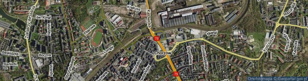 Zdjęcie satelitarne Faski Jana ul.