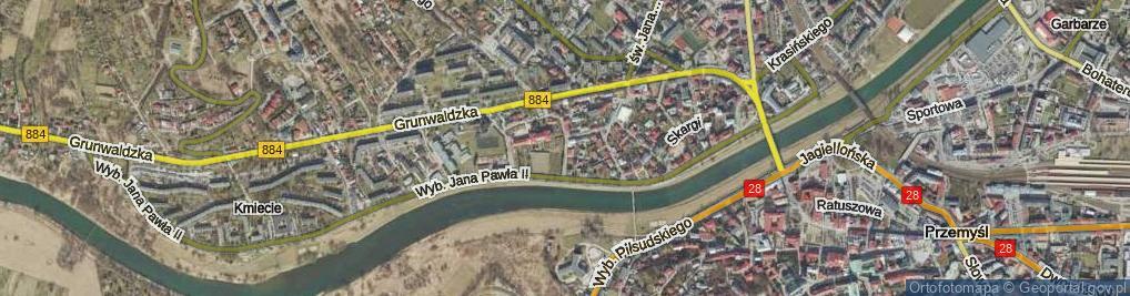 Zdjęcie satelitarne Felicjanek ul.