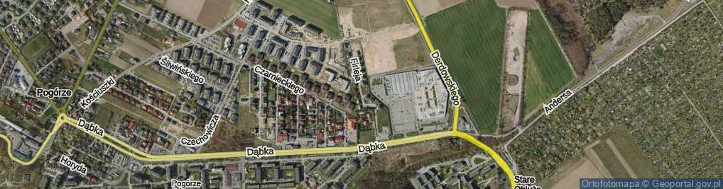 Zdjęcie satelitarne Firleja Mikołaja ul.