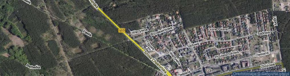 Zdjęcie satelitarne Figowa ul.