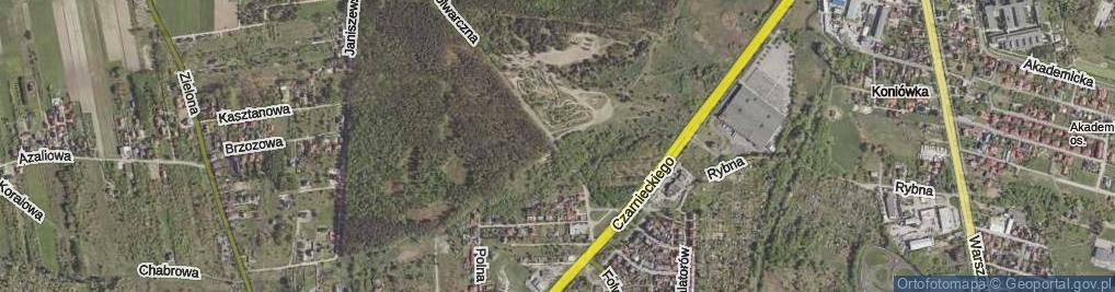 Zdjęcie satelitarne Folwarczna ul.
