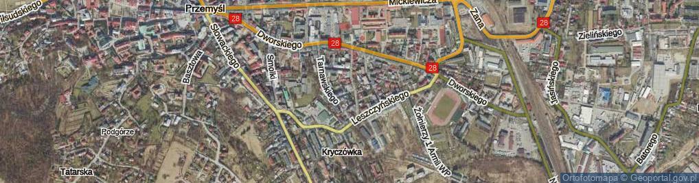 Zdjęcie satelitarne Frankowskiego Ignacego ul.
