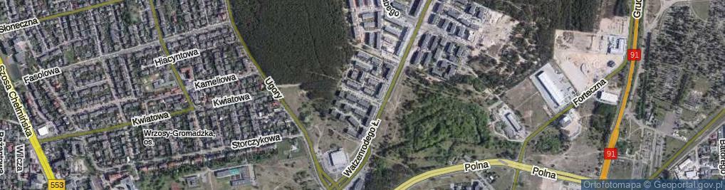 Zdjęcie satelitarne Freytaga Adama ul.