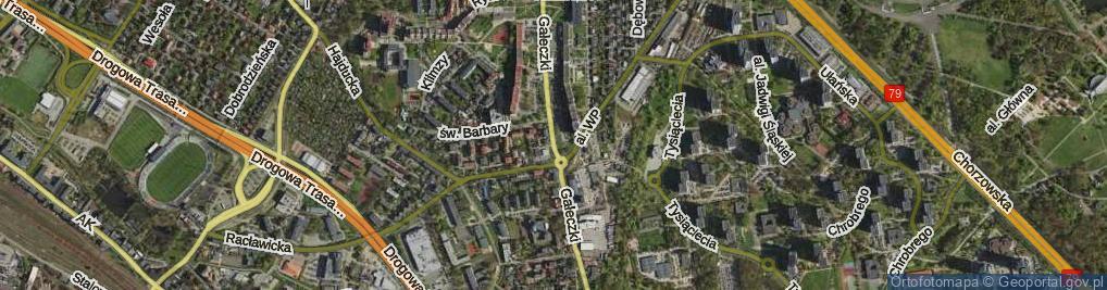 Zdjęcie satelitarne Gałeczki Jana, ks. ul.