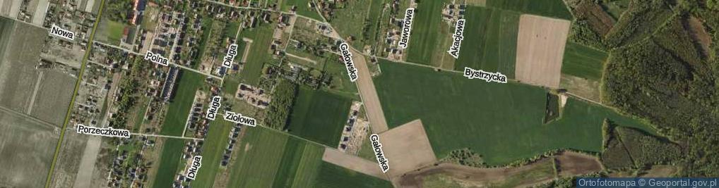 Zdjęcie satelitarne Gałowska ul.