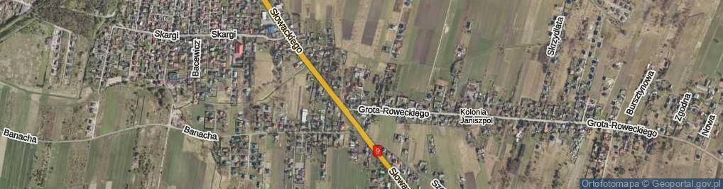 Zdjęcie satelitarne Gauze Jana ul.