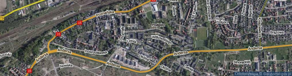Zdjęcie satelitarne Galona Rajmunda ul.