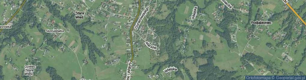 Zdjęcie satelitarne Gębika Władysława ul.