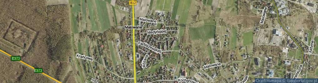 Zdjęcie satelitarne Glogera Zygmunta ul.