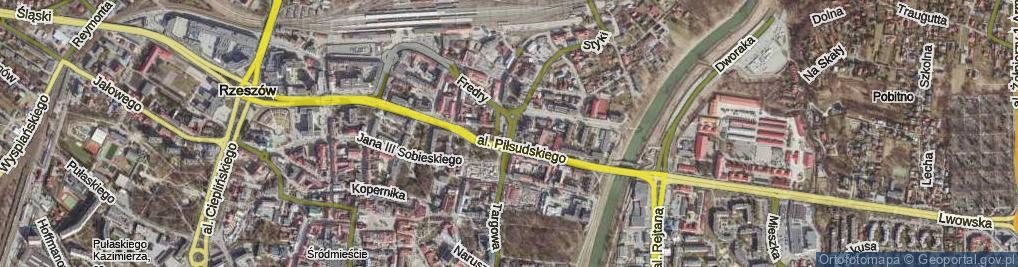 Zdjęcie satelitarne Głowackiego Bartosza Wojciecha ul.