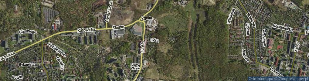 Zdjęcie satelitarne Góra Hugona ul.