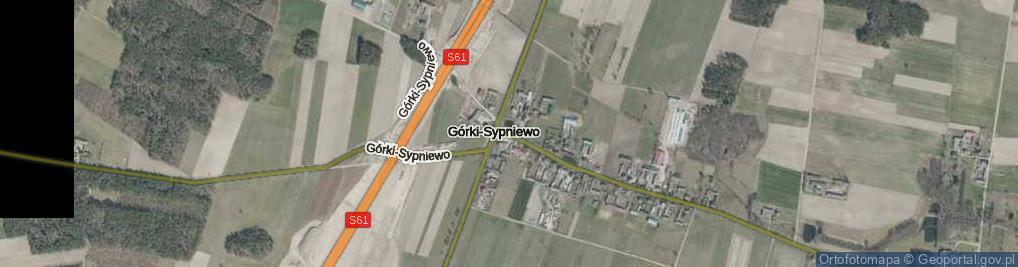 Zdjęcie satelitarne Górki-Sypniewo ul.