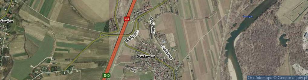 Zdjęcie satelitarne Gosławice ul.