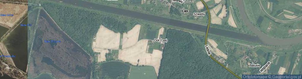 Zdjęcie satelitarne Górki ul.