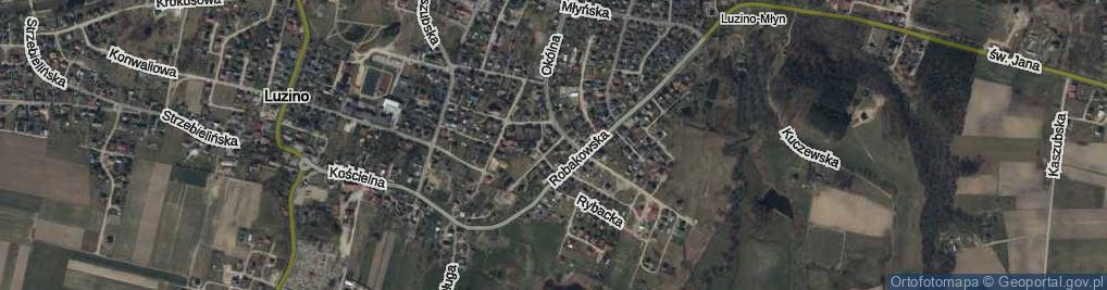 Zdjęcie satelitarne Gończa, ks. ul.