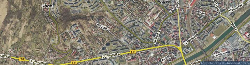 Zdjęcie satelitarne Goszczyńskiego Seweryna ul.
