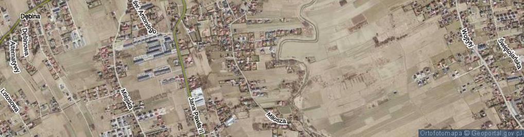 Zdjęcie satelitarne Gombrowicza Witolda ul.