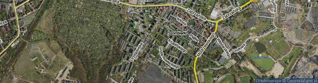 Zdjęcie satelitarne Grota-Roweckiego Stefana, gen. ul.