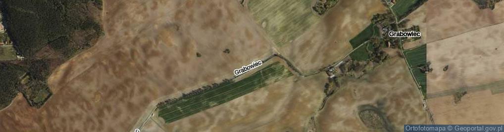 Zdjęcie satelitarne Grabowiec ul.