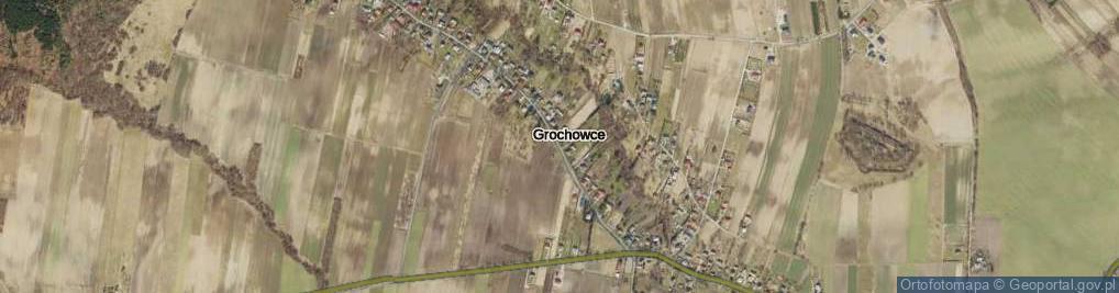 Zdjęcie satelitarne Grochowce ul.