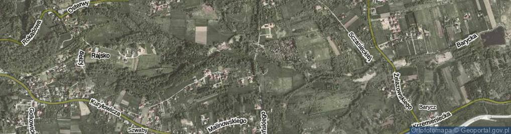 Zdjęcie satelitarne Gruszczyńskiego Włodzimierza ul.