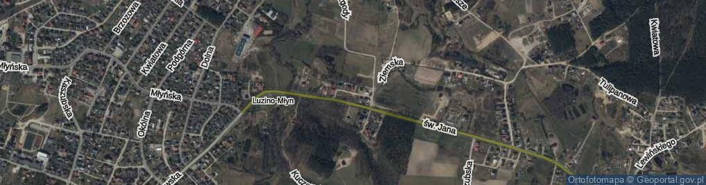 Zdjęcie satelitarne Grabskiego ul.