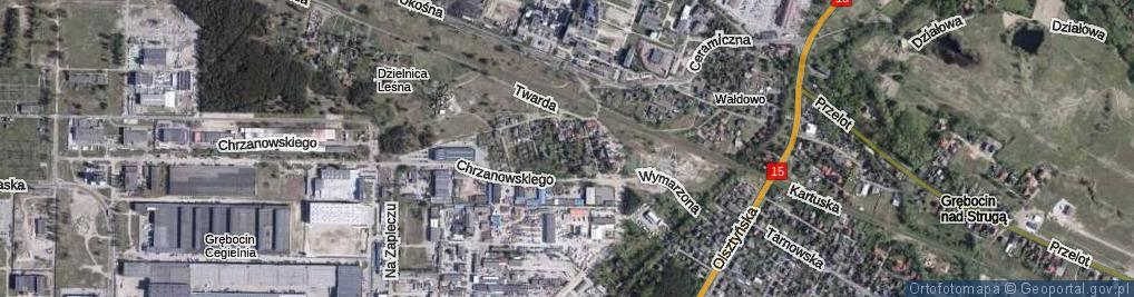 Zdjęcie satelitarne Gustlika ul.