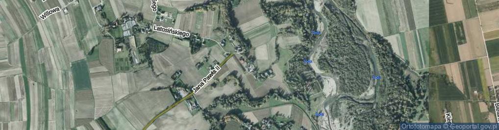 Zdjęcie satelitarne Handlowa ul.