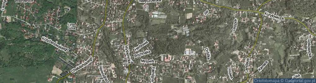 Zdjęcie satelitarne Herbowa ul.