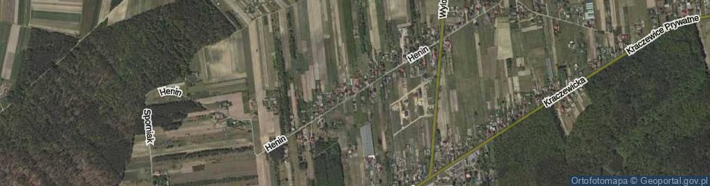 Zdjęcie satelitarne Henin ul.