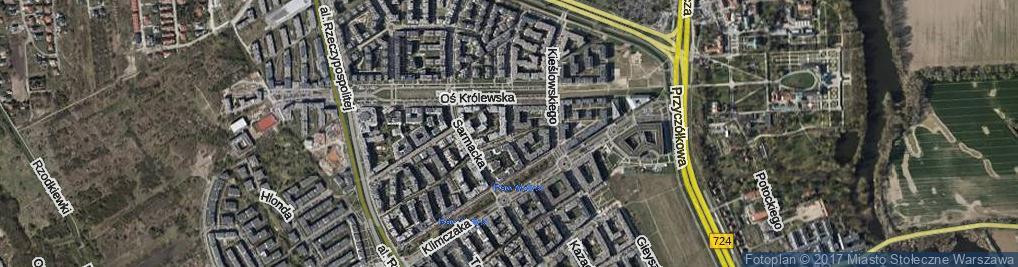 Zdjęcie satelitarne Herbu Leliwa ul.