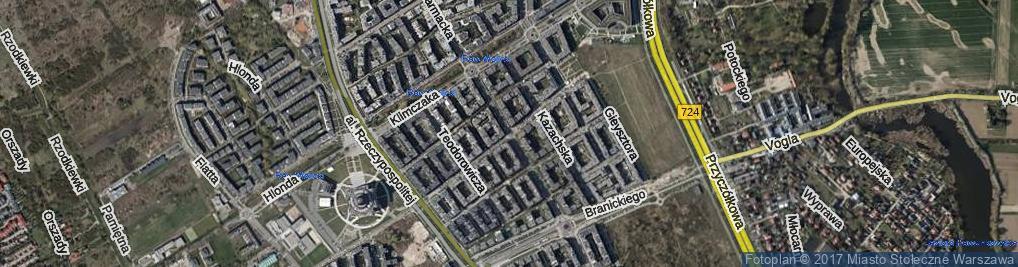 Zdjęcie satelitarne Herbu Szreniawa ul.