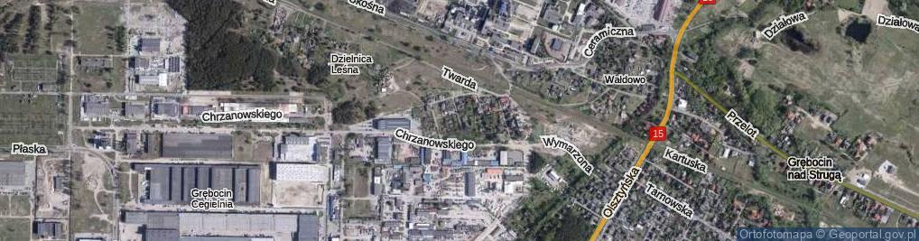 Zdjęcie satelitarne Honoratki ul.