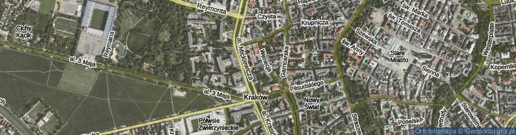 Zdjęcie satelitarne Humberta Szczepana ul.