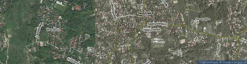 Zdjęcie satelitarne Hypty Franciszka ul.